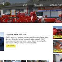 Page d'accueil du nouveau site de matériel agricole ets-bousquie.com